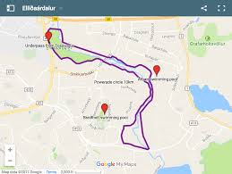 Map My Route Running by The Best Running Trails In Reykjavik Iceland Naturally The