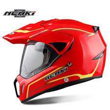 red motocross helmet aliexpress com buy nenki motorcycle motocross helmet capacete da