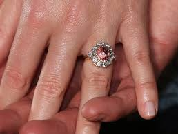 engage diamond ring princess eugenie flashes pink sapphire engagement ring reveals