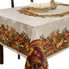 autumn harvest table linens 60x120 rectangle table cloth linen cover thanksgiving autumn fall