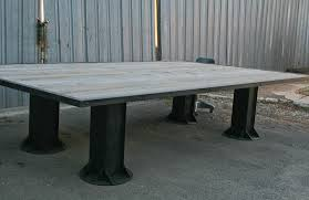 Vintage Conference Table Combine 9 Industrial Furniture Vintage Modern Industrial