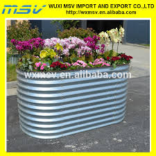 Corrugated Metal Planters by Corrugated Metal Planter Buy Planter Metal Planter Corrugated