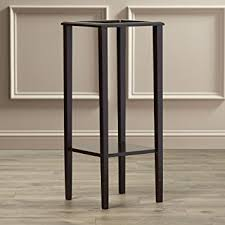 Contemporary Pedestals Amazon Com Indoor Plant Stand Wood Pedestal Telephone Table