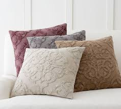 drew embroidered pillow cover pottery barn