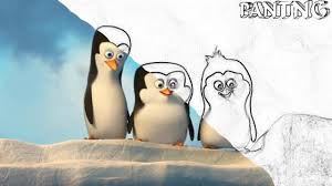 penguins of madagascar coloring book for kids youtube