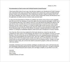 sample professor recommendation letter academic recommendation