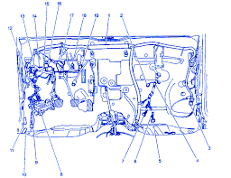 chevy metro l 4 2001 junction box electrical circuit wiring