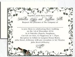wedding invitations kilkenny lets party till the cows come home wedding creations