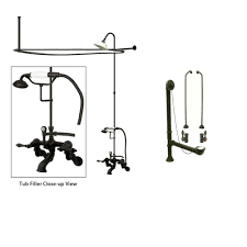 clawfoot tub faucet buying guide part 2 add a shower faucetlist