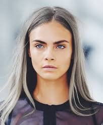 gray hair color trend 2015 cara delevingne got her hair did grey description from pinterest
