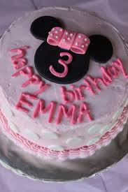 crave indulge satisfy minnie mouse birthday cake
