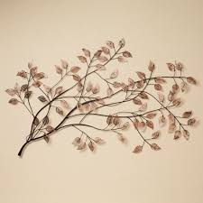 awesome natural plant design for metal wall art and decor leaves