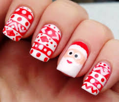 7 christmas inspired gorgeous nail art designs you need to try