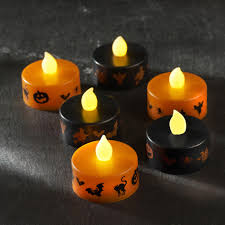 halloween flameless candles battery operated halloween lights u2013 festival collections