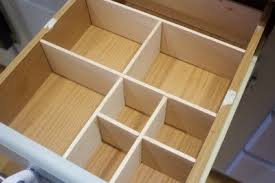 How To Quickly  Cheaply Create A Drawer Organizer Hometalk - Kitchen cabinet drawer dividers