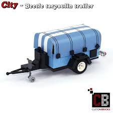 lego volkswagen beetle custombricks de lego custom modell trailer 10252 out of lego