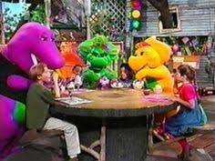 Image Threewishes Theend Jpg Barney by Barney The Dinosaur Purple Plush Stuffed Animal Original Lyons