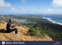 Obama Hawaii by U S President Barack Obama Rests And Enjoys The View After