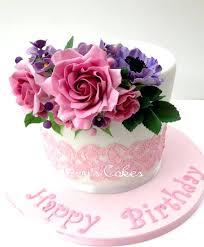 birthday flower cake happy birthday flower cake picture modern online same day