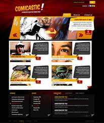 tutorial css design create a comic book themed web design photoshop to html css part 2