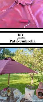 Paint Patio Umbrella How To Paint An Outdoor Umbrella Ella Ella Eh Eh Umbrella