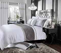Super King Size Duvet Covers Uk Home Bedding Store Super King Size Luxury Velvet Silver Grey
