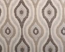 Geometric Fabrics Upholstery Dark Grey Upholstery Fabric Modern Taupe Geometric Fabric