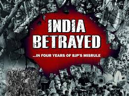 modi betrayed india congress to people on nda govt s 4th