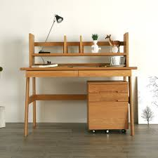 Oak Study Desk Nolsia Rakuten Global Market Hope Hope Study Desk Oak Solid