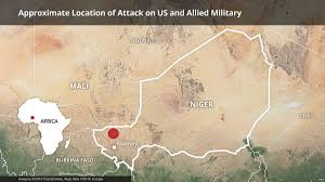Live Attack Map Us Suspects Niger Villager Betrayed Army Troops