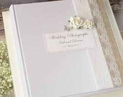 Burlap Photo Album Burlap Wedding Album