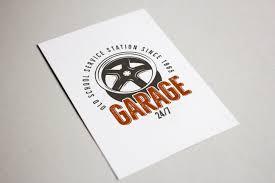 car service logo garage car service emblem retro log design bundles