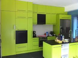 meuble de cuisine vert pomme idée de modèle de cuisine