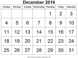 calendar 2016 dates