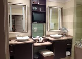 Built In Bathroom Vanity Built In Display Cabinets Bathroom Traditional With His And Hers