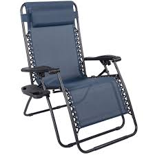 Patio Recliner Chair by Outdoor Patio Folding Lounge Zero Gravity Reclining Chair With