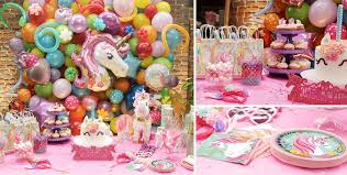 unicorn party supplies magical unicorn party supplies unicorn birthday party party city
