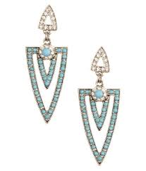chandeliers earrings kazo blue acryclic chandeliers earrings buy kazo blue acryclic