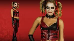 Harley Quinn Halloween Costume Arkham Harley Quinn Costume