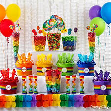 Candy Buffet Table Ideas Candy Sweet Shop Party Ideas Rainbow Parties Buffet Ideas And
