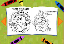 pony coloring pages games