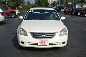nissan white car altima 2003 nissan altima s white sport sedan sale