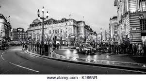piccadilly circus at christmas time london england uk stock