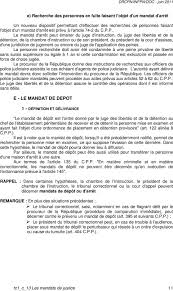chambre d application des peines les mandats de justice pdf