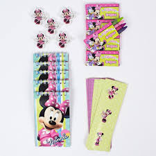 party favours disney minnie mouse stationery party favours pack of 20 only 5 99