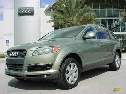 Audi Q7 2007 - 2007 sycamore green metallic audi q7 3 6 premium quattro 25352324