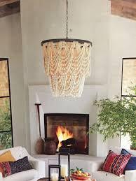 Two Golden Rings Bead Chandelier Best 25 Bead Chandelier Ideas On Pinterest Wooden Beaded
