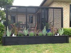 Wooden Planter With Trellis 2x Timber Garden Planter Box For Balconies Terrace And Patios