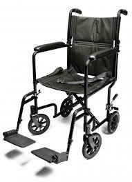 gf aluminum transport chair