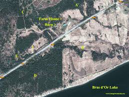 Homes For Sale In Nova Scotia 64 Acres Property Overlooking The Open Bras D Or Lake For Sale By